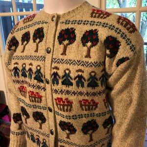 CHARTER CLUB Wool Blend Cardigan Sweater